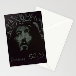4a-Jesus-Pastel-white Stationery Cards