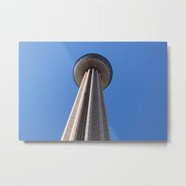 TOWERS OF THE AMERICAS (SAN ANTONIO) Metal Print