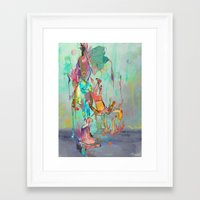 archan nair Framed Art Prints featuring Soulipsism by Archan Nair
