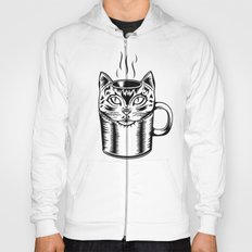 Coffee Cat Hoody