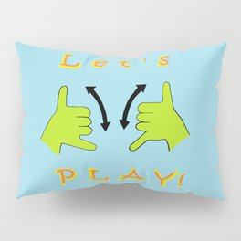 ASL Let's PLAY! Pillow Sham