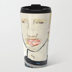 Lip Chain Piercing Metal Travel Mug