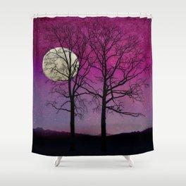 Harvest Moon Solitude II Shower Curtain