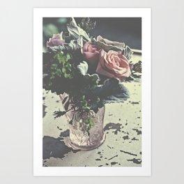 euphoric flowers  Art Print