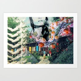 Dive Into Lucid Waters Art Print