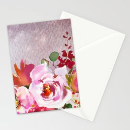 Flowers bouquet 92 Stationery Cards