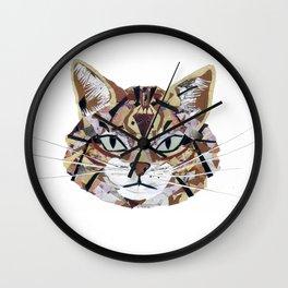 Scottish Wild Cat Wall Clock