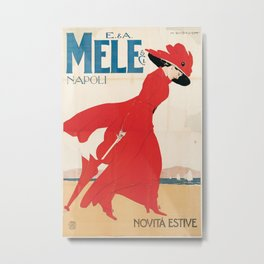 Vintage poster - Mele Estate Metal Print
