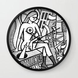 Intellectual Freaks - PopCore 9 Wall Clock