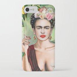 Frida con Amigos iPhone Case