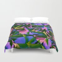 jungle Duvet Covers featuring Jungle by Truly Juel