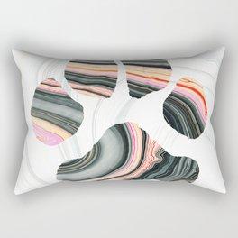 Groovy Dog Paw - Sharon Cummings Rectangular Pillow