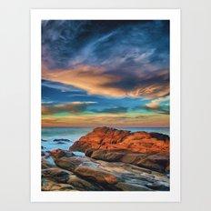 Another Seaside Visit Art Print