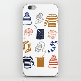 Knitting iPhone Skin