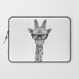 Hipster Giraffe Laptop Sleeve