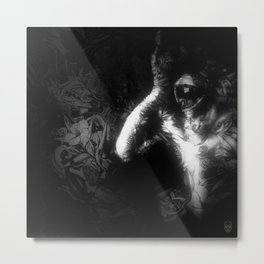 Look Forward Metal Print