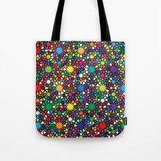 Star Wave Geometric Art Print. Tote Bag