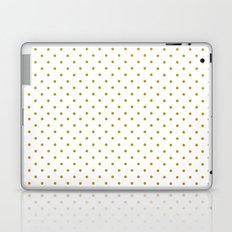 Golden Dots Laptop & iPad Skin