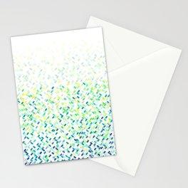 Tropicool Confetti Basket  Stationery Cards