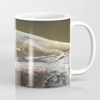chameleon Mugs featuring Chameleon  by Four Hands Art