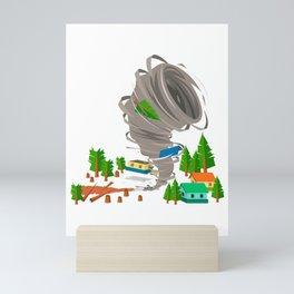 Awesome Tornado & Storm Chasers Mini Art Print