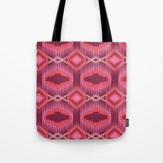 Tribal Red Tote Bag