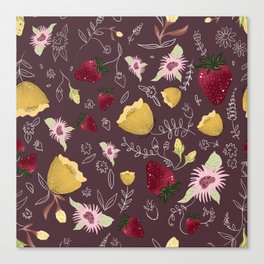 Strawberries Canvas Print