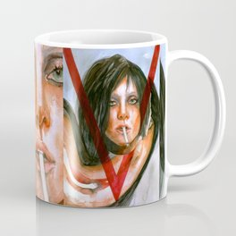 LadyGaga as Editor Coffee Mug