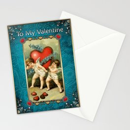 Valentine's Day Vintage Card 017 Stationery Cards