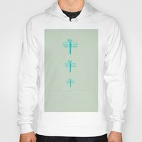 dragonfly Hoodies featuring dragonfly by gzm_guvenc