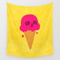 Skull Scoop. Wall Tapestry