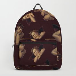 Classical Cherub Toss in Dark Chocolate Cherry Backpack