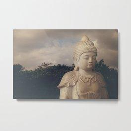 Buddha Point Metal Print