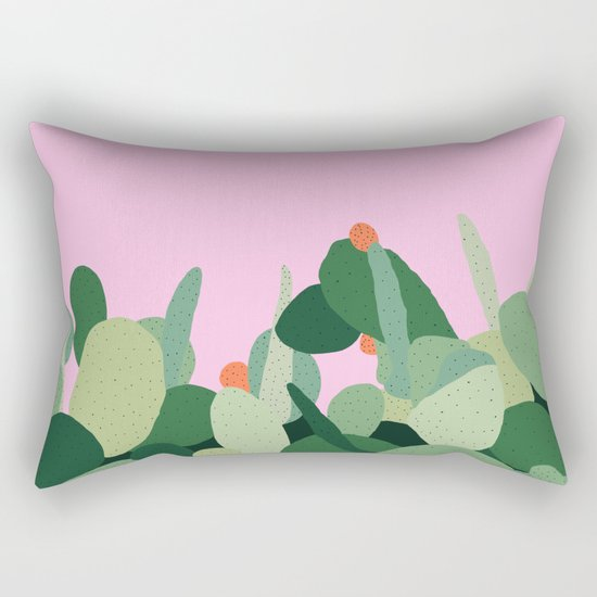 Prickly Pear I Rectangular Pillow