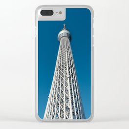Tokyo Skytree Observation Tower Clear iPhone Case