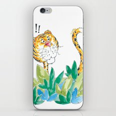 Spots, your tail is up! iPhone & iPod Skin
