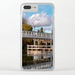 Autumn Colours At Whitchurch Bridge Clear iPhone Case