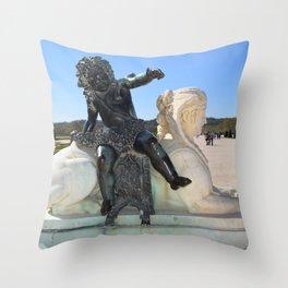 versailles paris Throw Pillow