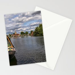 The River Thames At Marlow Stationery Cards