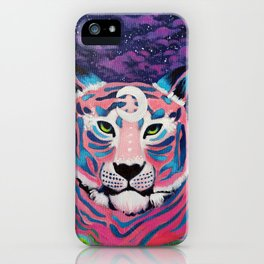 Moon River Tiger iPhone Case