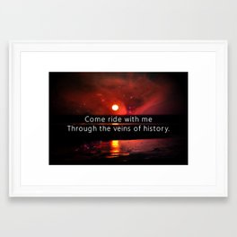 knights of Cydonia Framed Art Print