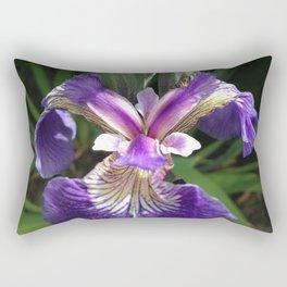 Alaska Wild Iris by Mandy Ramsey, Haines, Alaska Rectangular Pillow