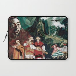 The ANDES             by Kay Lipton Laptop Sleeve