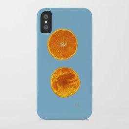 Mi media naranga / My better half iPhone Case