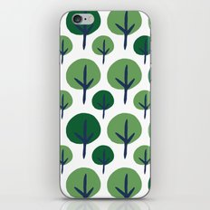 ROUND TREE iPhone & iPod Skin