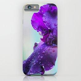 Lady Iris iPhone Case