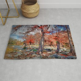 THE GUADALUPE RIVER Rug