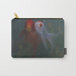 Two Goldfish Carry-All Pouch