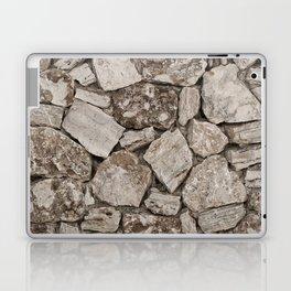 Old Rustic Stone Wall Laptop & iPad Skin