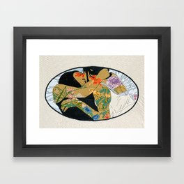 Lala Girls (without hoop) Framed Art Print